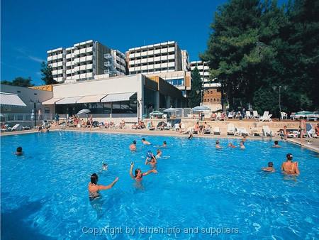 Hotel pical in porec istrien kroatien for Planung zimmereinrichtung