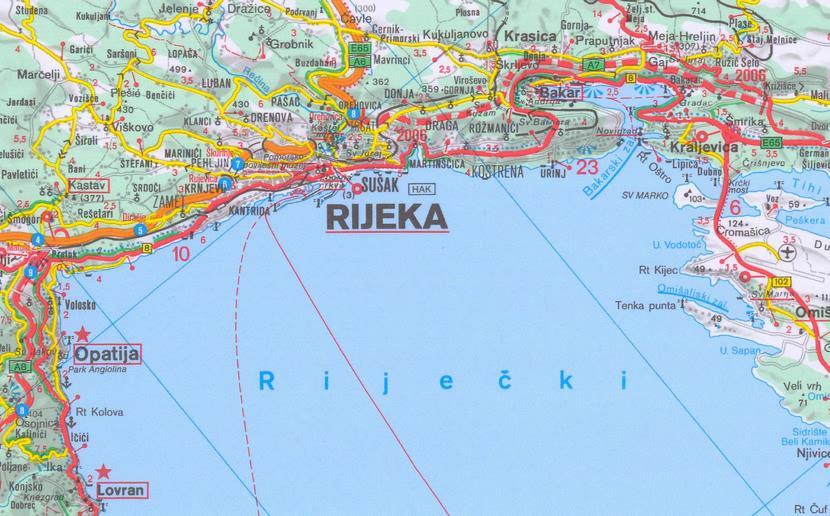 rijeka tourist map - photo #6