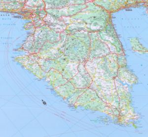 Kroatien Karte Istrien.Istrien Kroatien Reiseführer Für Istrien Kroatien